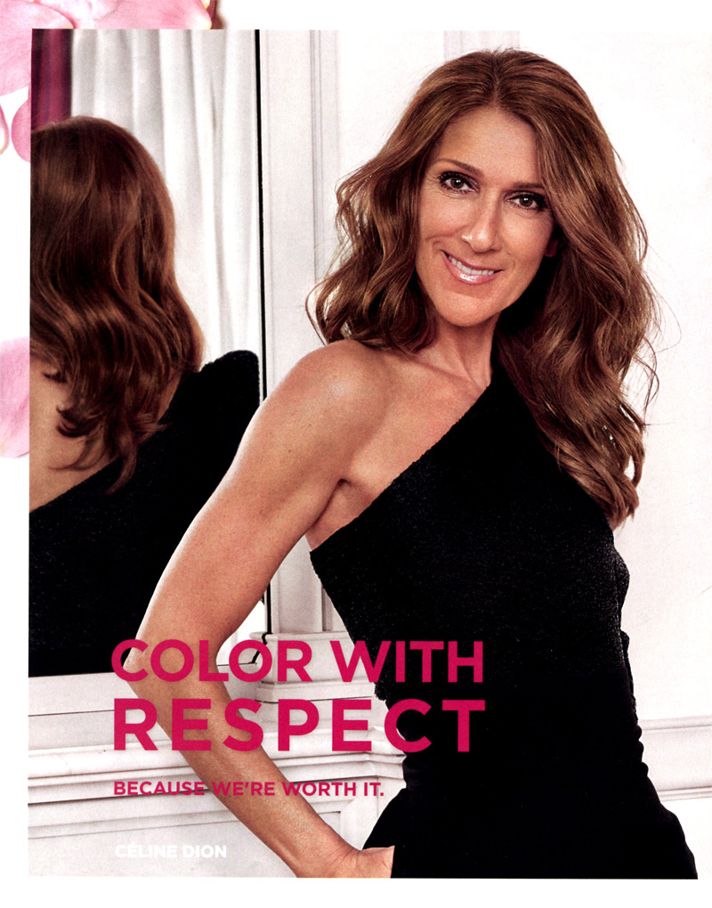 Celine Dion for L'Oreal Paris