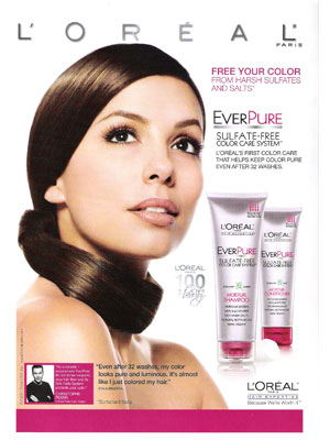 Eva Longoria L'Oreal May 2009