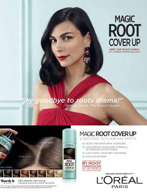 Morena Baccarin L'Oreal Magic Root