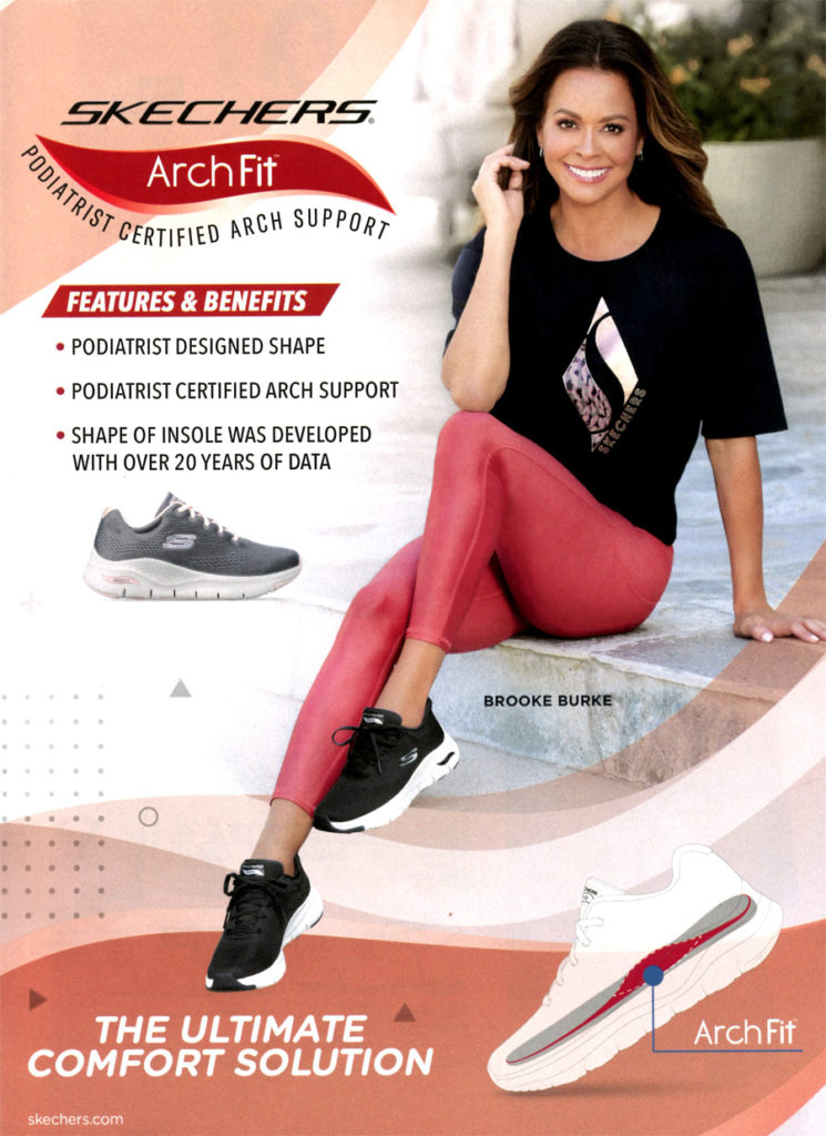 Brooke Burke Skechers Arch Fit