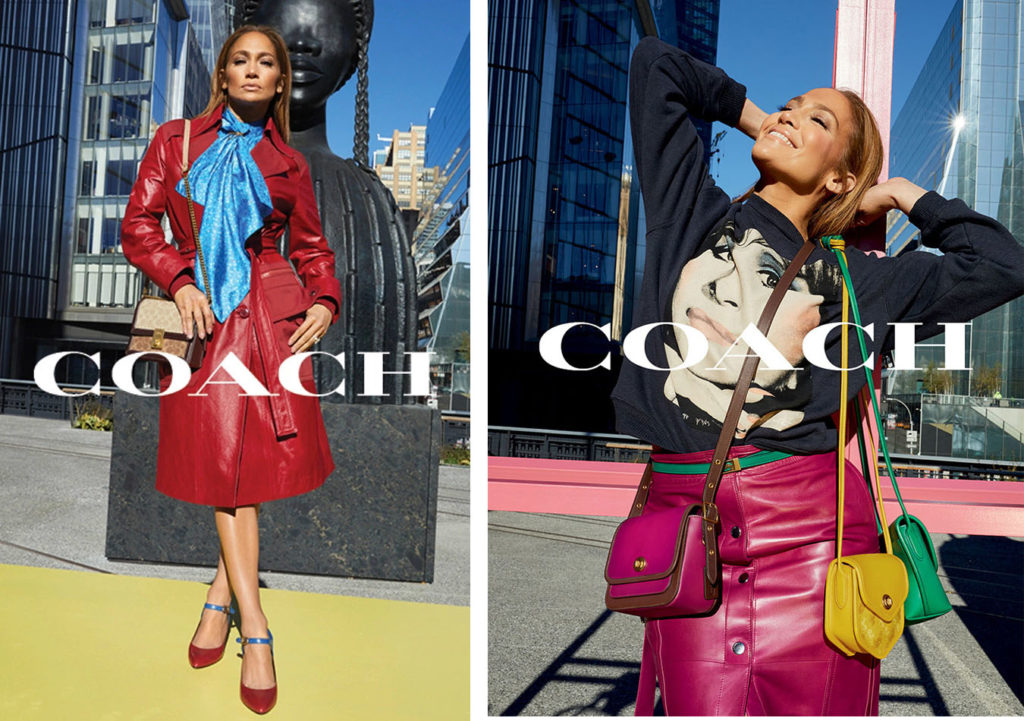 Jennifer Lopez for Coach 2020