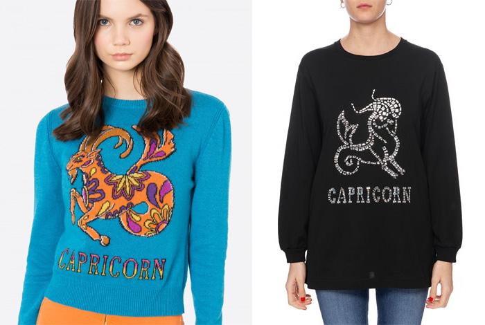 Alberta Ferretti Zodiac Sweaters