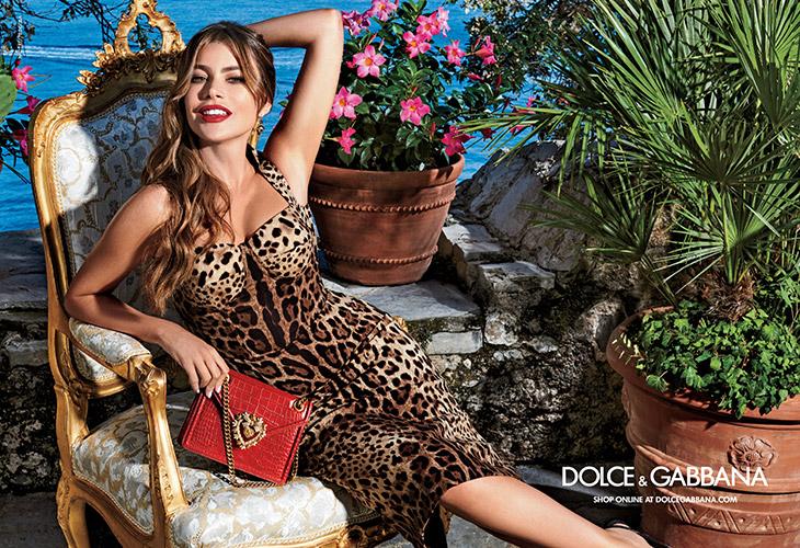Sofia Vergara Dolce & Gabbana Summer 2020