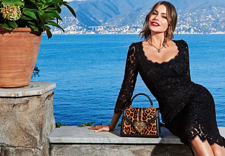 Sofia Vergara Dolce & Gabbana Spring 2020
