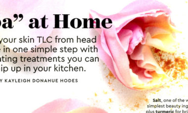 Spa at Home Woman's Day June 2020