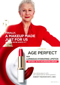 Helen Mirrem L'Oreal Age Perfect