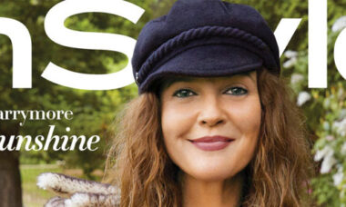 Drew Barrymore InStyle August 2020