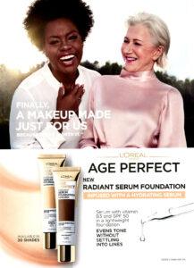 Viola Davis and Helen Mirrem L'Oreal Ad 2020